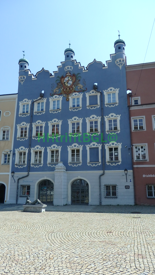 Burghausen Stadt Stadtsaal