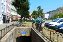 Burghausen Stadt Tiefgarage Stadtplatz