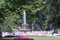 Kurgarten Bad Reichenhall Brunnen