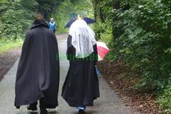 König und Königin - zu Fuß