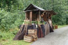 Mittelaltermarkt Piding 2015 - Hexenbesen