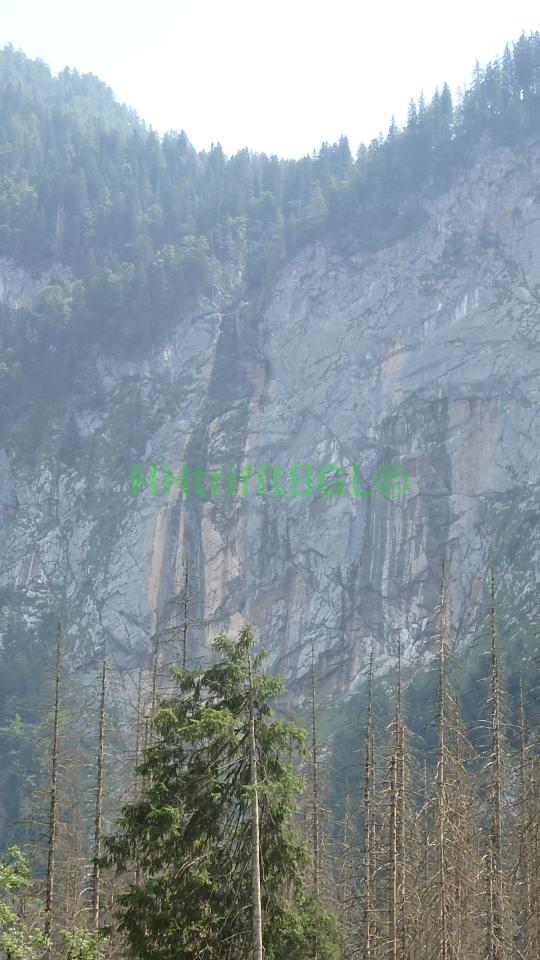 Röthbachfälle ohne Wasser